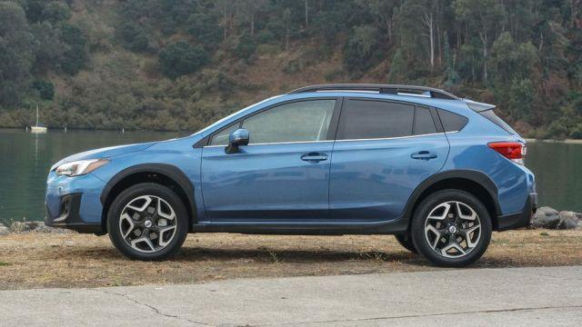 2020 Subaru Crosstrek side