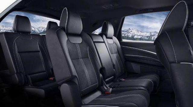 2021 Acura MDX seats