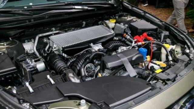 2021 Subaru Outback engine