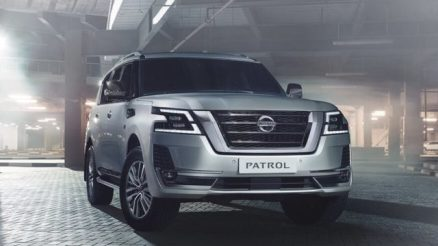 2021 Nissan Patrol front