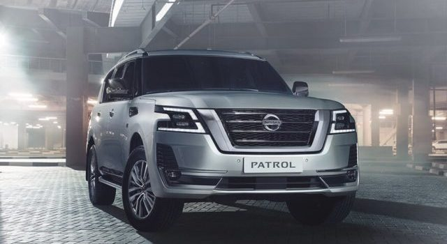 2021 Nissan Patrol front