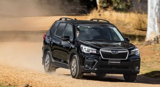 2021 Subaru Forester front