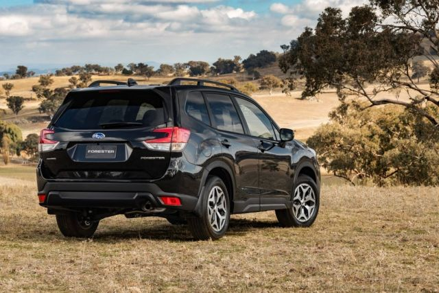 2021 Subaru Forester rear