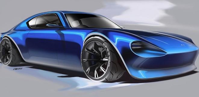 2021 Nissan 370Z rendering