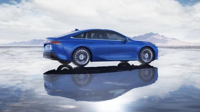2021 Toyota Mirai exterior