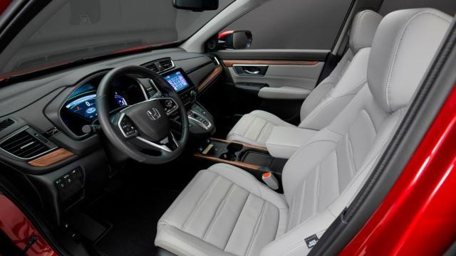 2021 Honda CR-V Hybrid interior