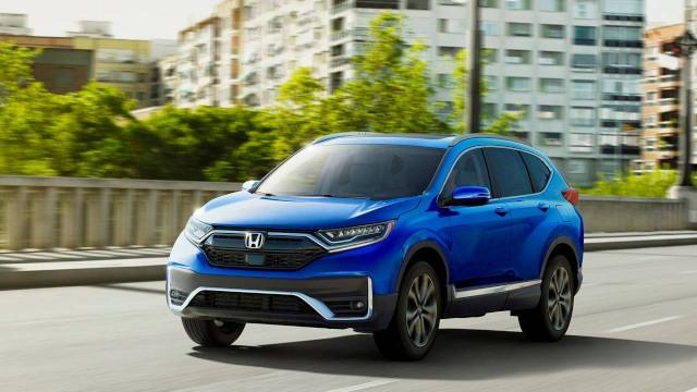 2021 Honda CR-V Hybrid redesign