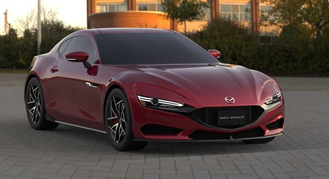 2022 Mazda RX-7 renderings