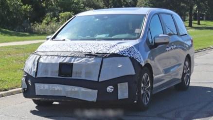 2021 Honda Odyssey spy shots