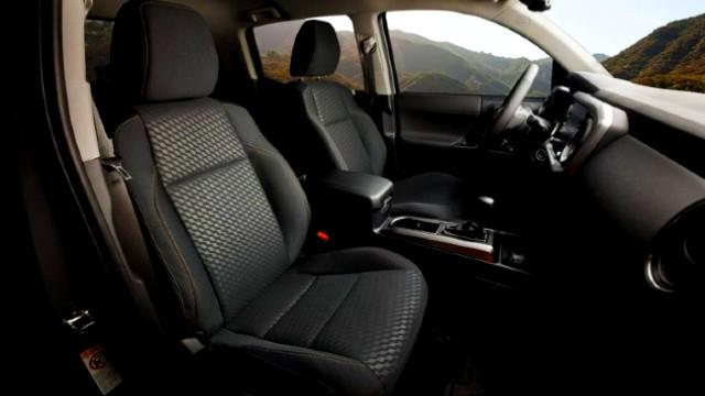2021 Toyota Tacoma Trail Edition interior