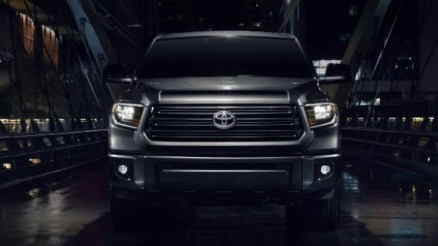 2021 Toyota Tundra Nightshade grille