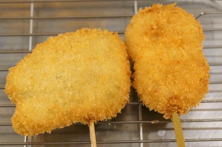 Kushikatsu 串カツ Deep-Fried Foodon a Skewer