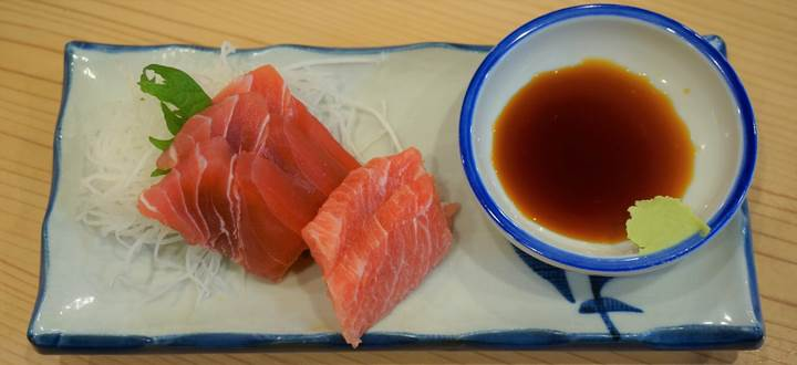Banpaiya 晩杯屋 Tuna sashimi マグロ刺し