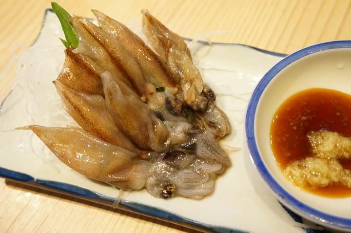 Banpaiya 晩杯屋 Firefly squid sashimi ホタルイカ刺し