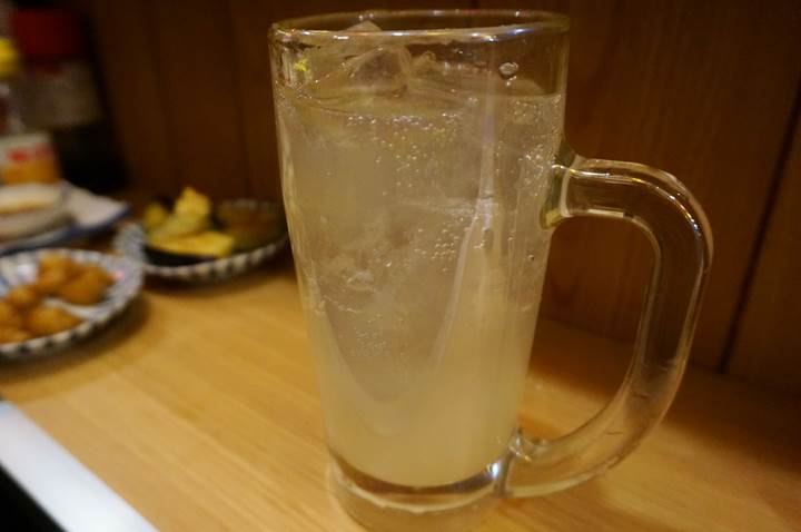 Banpaiya 晩杯屋 Sudachi citron mixed with shochu 生すだちハイ