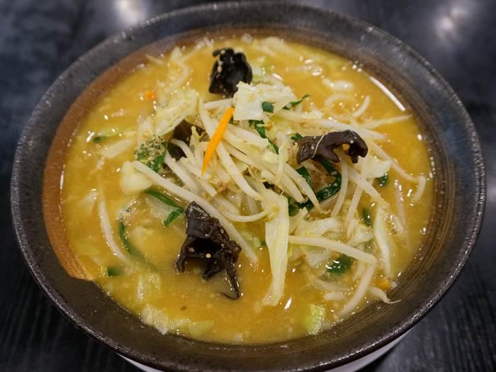 Miso Vegetables Ramen 味噌野菜たんめん Kourakuen 幸楽苑