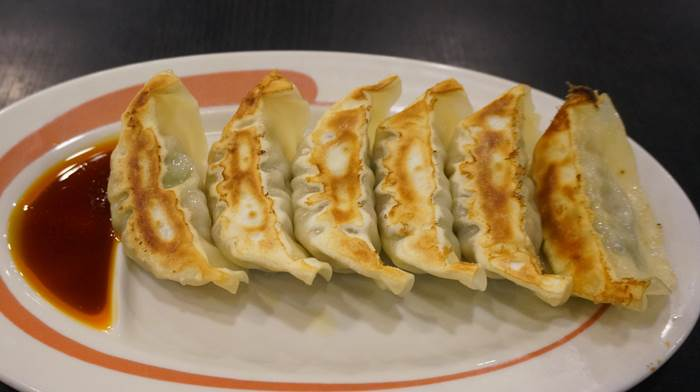 Dumplings 餃子 Kourakuen 幸楽苑