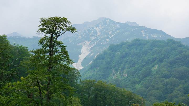 Mt. Shiroumadake Mt. Shirouma 白馬岳