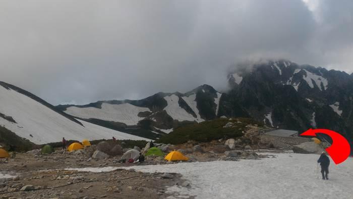 Tsurugizawa camp site 劔沢キャンプ場
