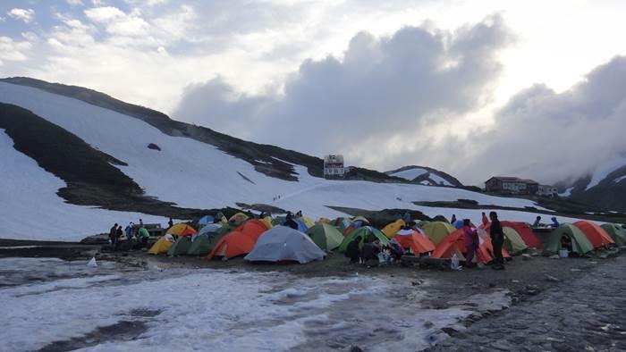 Raichozawa camp site 雷鳥沢キャンプ場