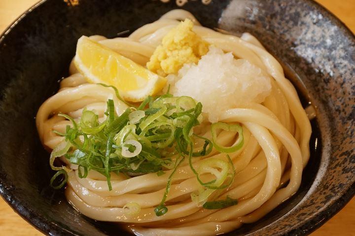 Special Soy Sauce Udon ぶっかけ - Hanamaru Udon はなまるうどん