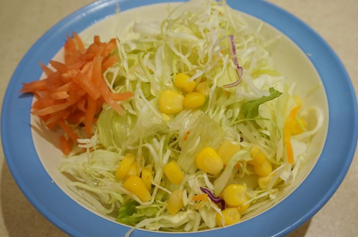 Salad 生野菜 - Matsuya 松屋