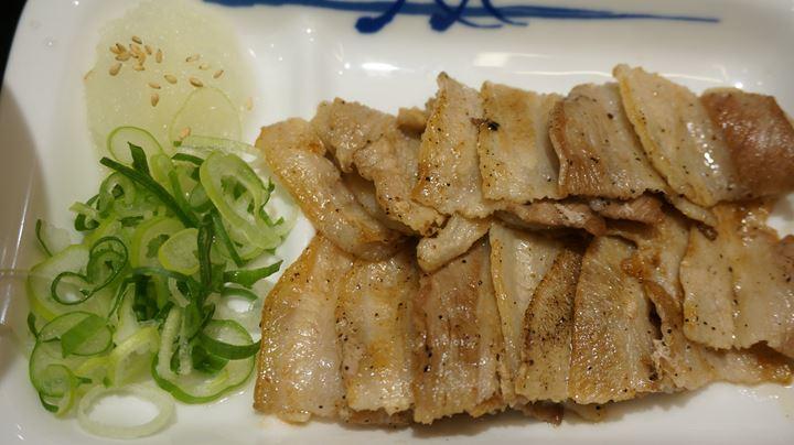 Grilled Pork Set Meal 豚焼肉定食 - Matsuya 松屋