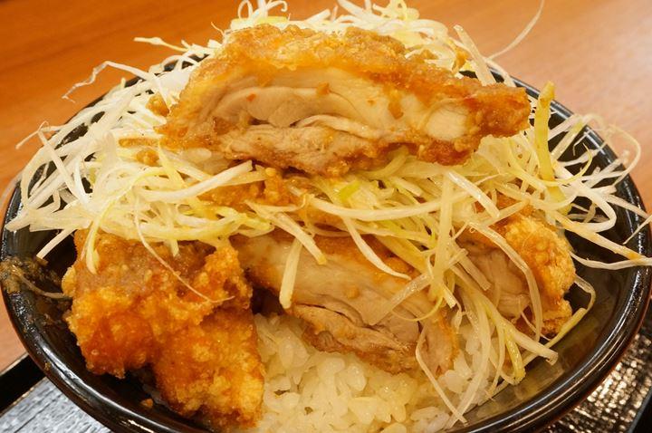ネギ極ダレ丼 - KARAYAMA からやま - Deep fried chicken からあげ 唐揚