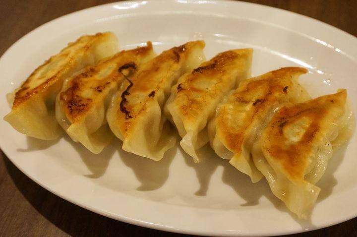 Gyoza Dumplings 肉汁餃子 - ICHIKAKUYA Yokohama Iekei Ramen 横浜家系ラーメン 壱角家