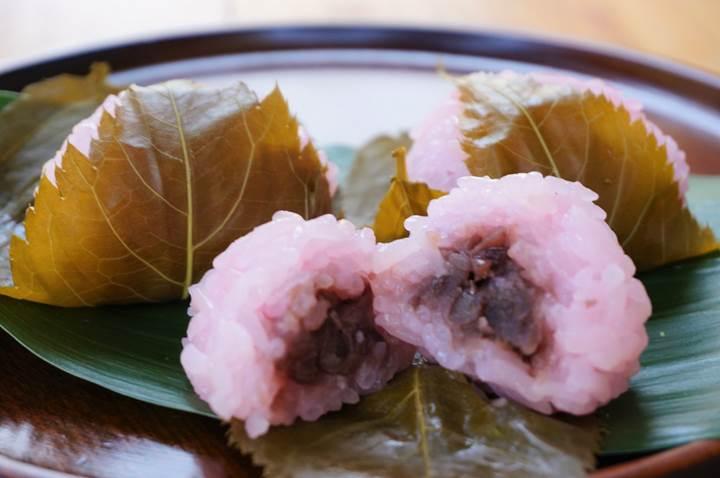 Sakuramochi 桜餅 さくらもち 関西・西日本風
