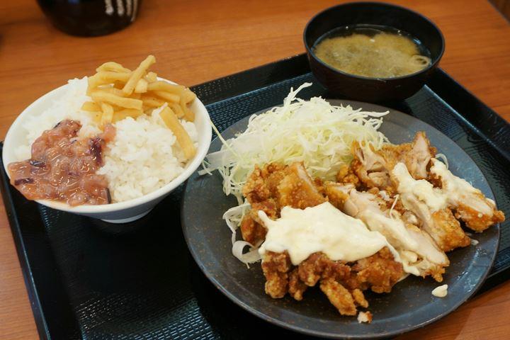 Chicken Namban Set Meal チキン南蛮定食 - 唐揚げ Deep fried chicken KARAYAMA からあげ からやま