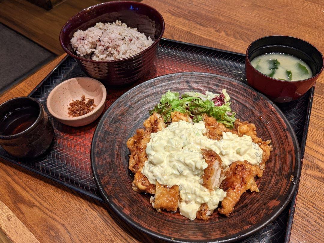 Chicken Namban Set Meal 大戸屋風チキン南蛮定食 Ootoya 大戸屋