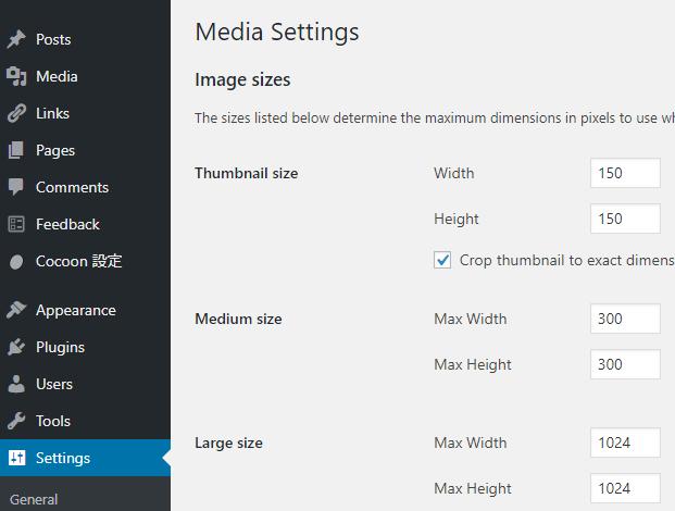 Media-Setting