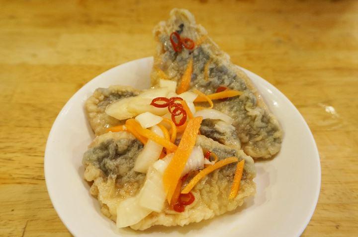 アジ南蛮漬 Deep Fried Horse Mackerel Marinated in Sweet Vinegar Sauce - 大衆酒場 かぶら屋 Izakaya Bar KABURAYA