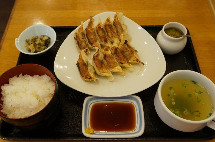 ぎょうざ定食 Gyoza Dumplings Set Meal 薄皮ぎょうざ - リンガーハット RingerHut