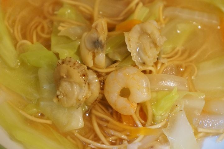 Deep Fried Noodles Covered with Starchy Soup おつまみ皿うどん - Standing Bar KAMIYA 立ち呑み かみや