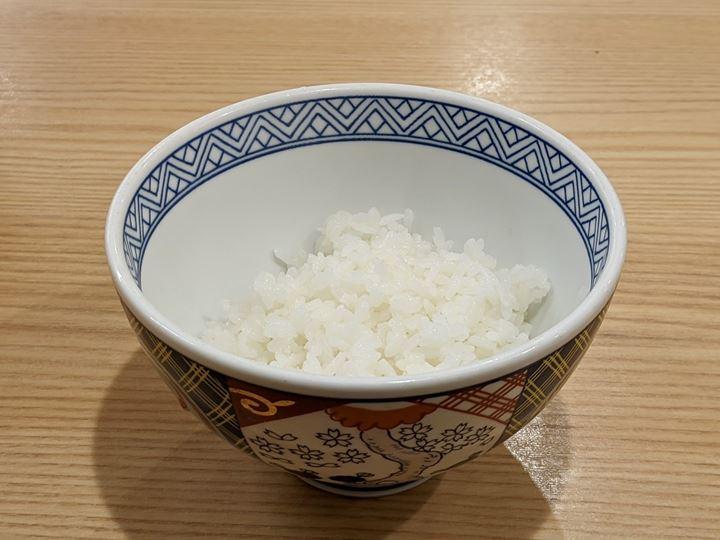 Free Refills Rice 定食のご飯は24時間増量 おかわり無料 YOSHINOYA 吉野家