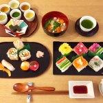 お寿司と日本茶試飲コース