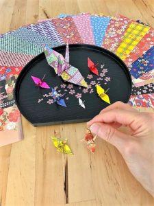 折り紙アクセサリー