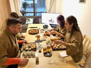 手まり寿司づくりコース