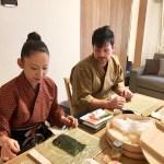 裏巻き寿司づくり