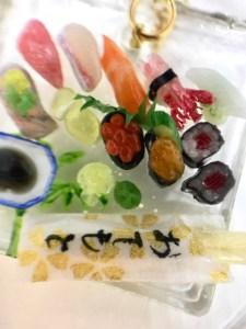 ミニチュア寿司ネックレス