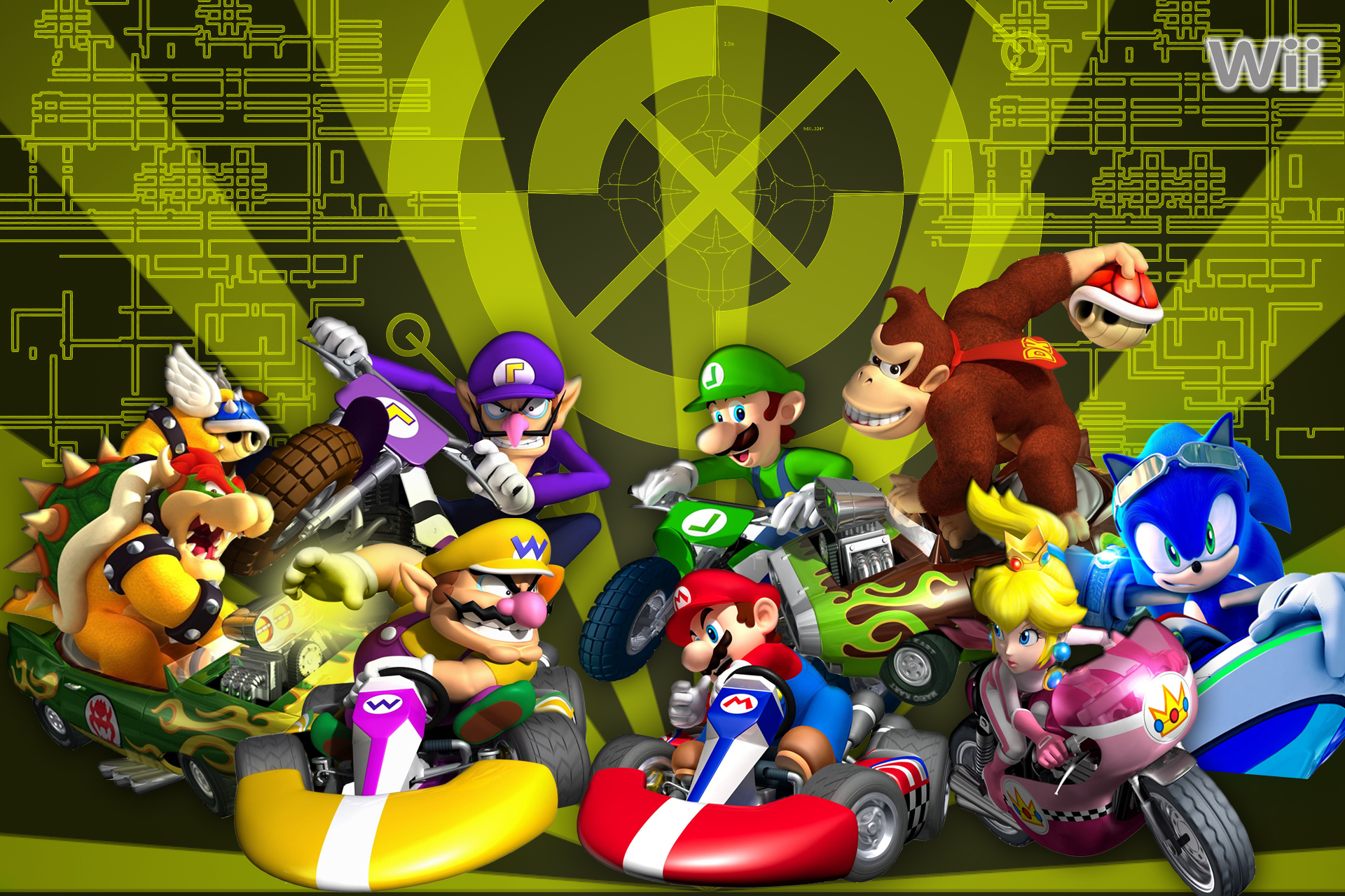 Mario Kart & Mario 3DS Dated