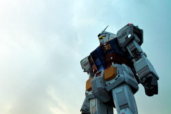 Gundam Time Lapse In Odaiba