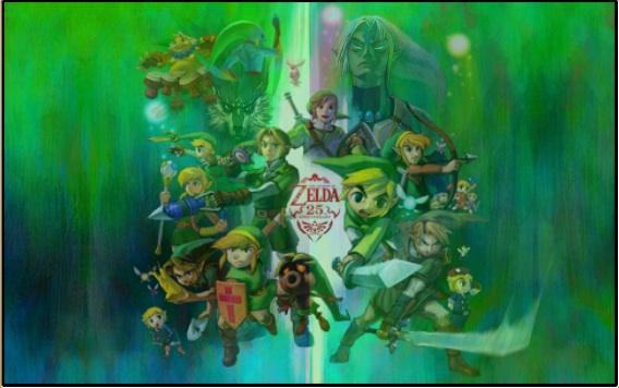 Freebie Zelda Screensaver From Nintendo