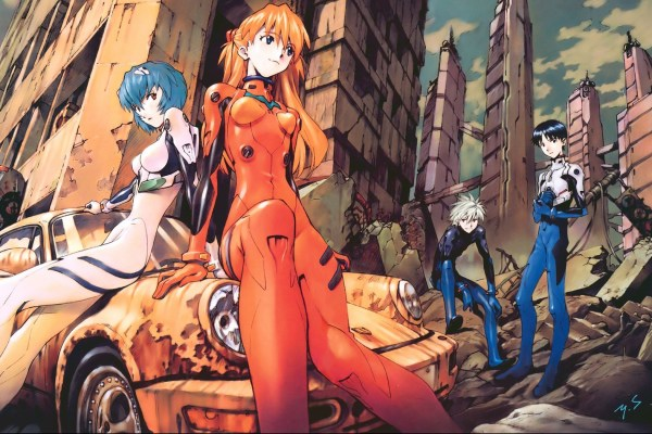 Evangelion Train Coming To Japan