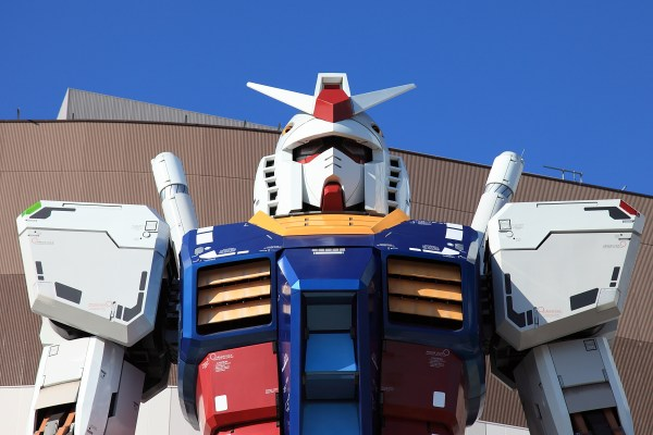 Odaiba's Gundam Is Back In The House