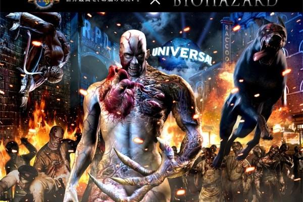 Resident Evil Brings Zombies To Universal Studios Japan
