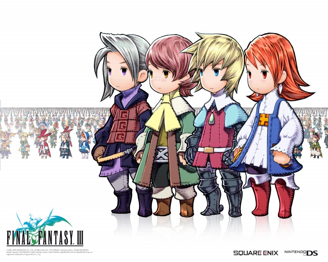 Final Fantasy III PSP Trailer