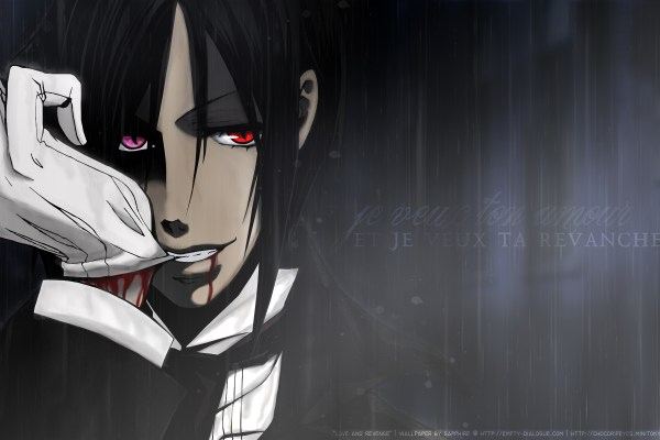 Black Butler The Musical Site Opens